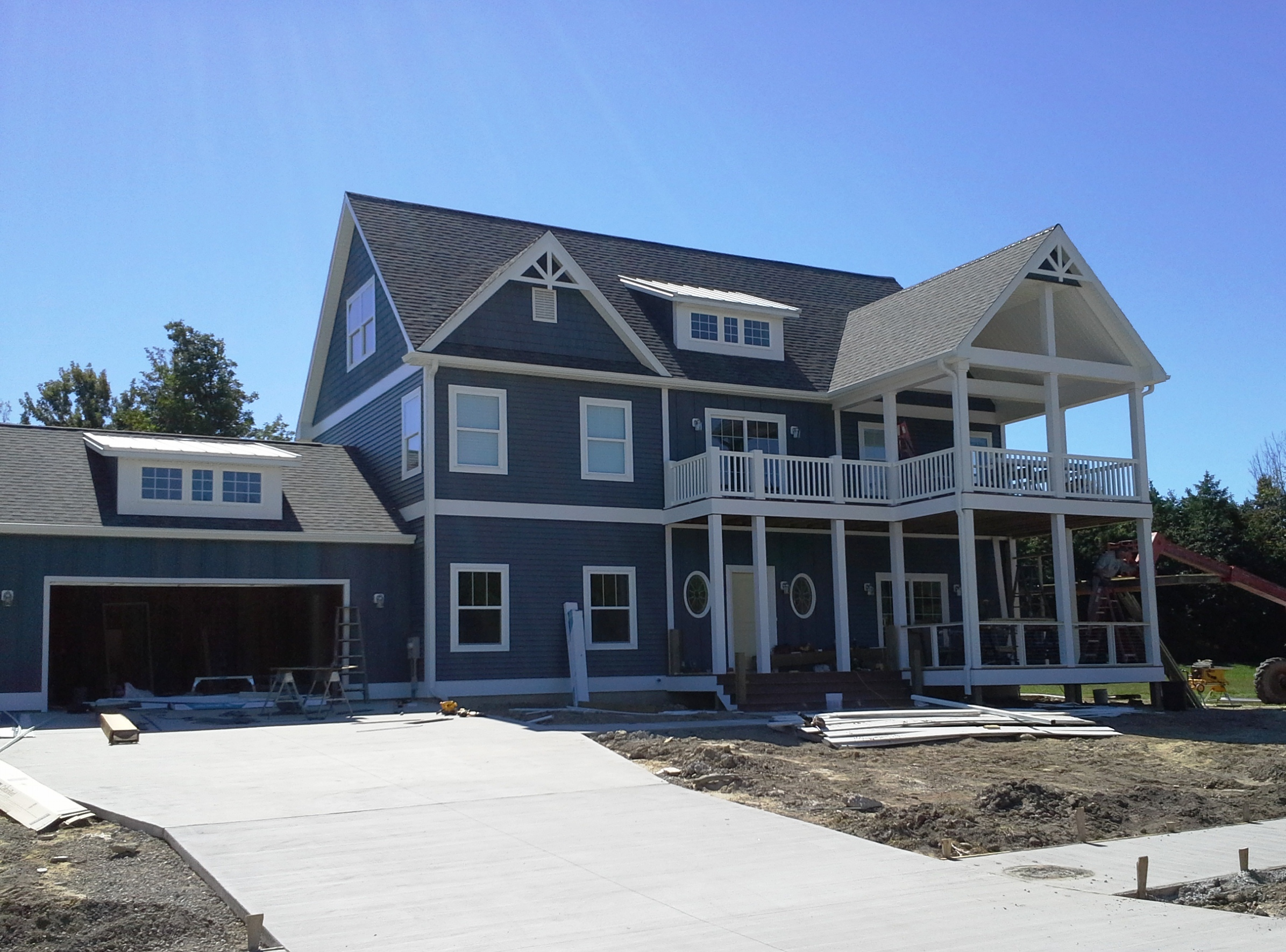 South Haven Lakefront Home It Is A Beauty Custom